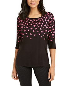 Metallic Printed Top, Created for Macy's