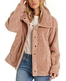 Juniors' Cozy Days Fleece Jacket