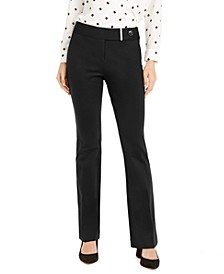 Tummy-Control Extended-Tab Trousers, Created for Macy's