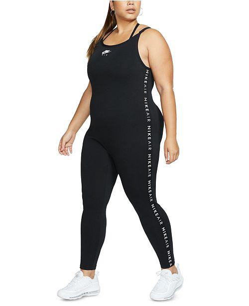 Nike Air Plus Size Long Bodysuit Reviews Pants Leggings Plus Sizes Macy S