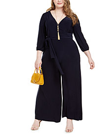Taylor Plus Size Solid Jumpsuit