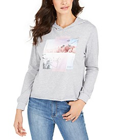 Juniors' Pine Mountain Graphic-Print Hoodie
