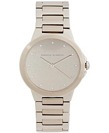 Women's Cali Soft Beige-Tone Stainless Steel Bracelet Watch 34mm