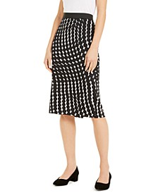 Printed Scuba Pencil Skirt, Created For Macy's