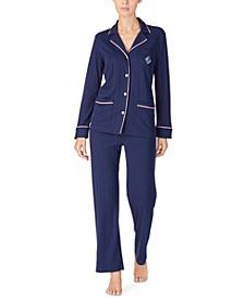 Women's Knit Pajama Set