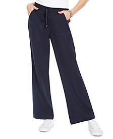 Wide-Leg Beach Pants