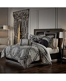 J Queen Vera California King 4 Piece Comforter Set