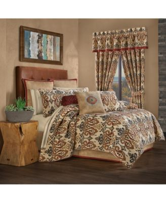 J Queen Tucson Queen 4 Piece Comforter Set
