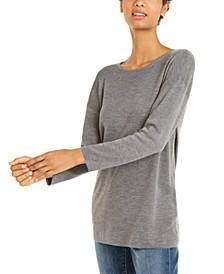 Wool Crewneck Sweater Tunic