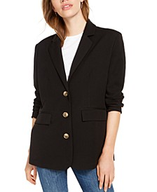 Oversized Long-Sleeve Blazer