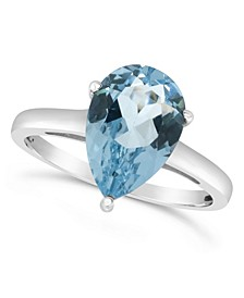 Sky Blue Topaz (3-3/8 ct. t.w.) Ring in Sterling Silver. Also Available in Rose Quartz (2-1/2 ct. t.w.)
