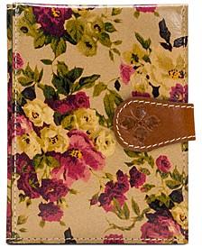 Antique Rose Passport Case