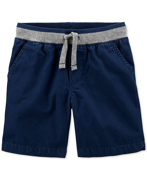 Carter's Toddler Boys Cotton Pull-On Dock Shorts