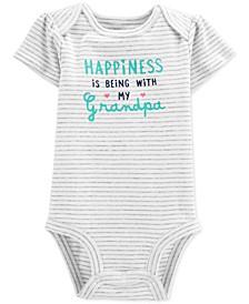 Baby Girls Cotton Grandpa Bodysuit