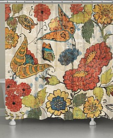 Heirloom Floral Shower Curtain