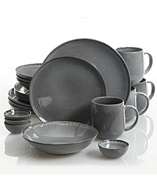 Parisian Grey 20-piece Dinnerware Set, Created for Macy's
