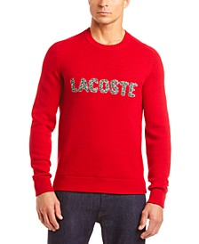 "Men's Interlock Croc ""Christmas"" Logo Classic Sweater"