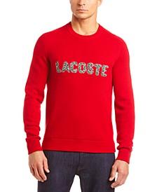 "Men's Interlock Croc ""Christmas"" Logo Classic Sweater"