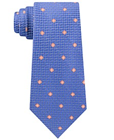 Men's Classic Textured Neat Silk Tie