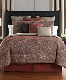 Caine Queen 4 Piece Comforter Set