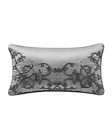 "Vernon 11"" x 20"" Embroidered Decorative Pillow"