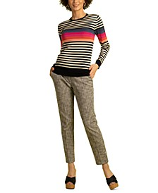 Colette Wool Striped Sweater