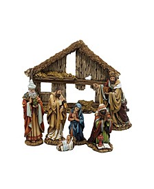 6-Inch Resin Nativity Set of 7