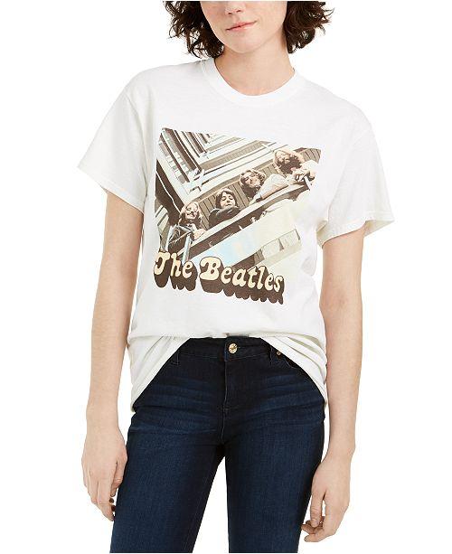 True Vintage The Beatles Graphic-Print Cotton T-Shirt
