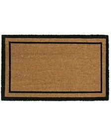 Plain Double Border Coir Door Mat