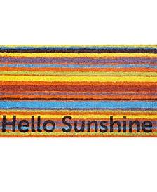 Hello Sunshine Coir Door Mat