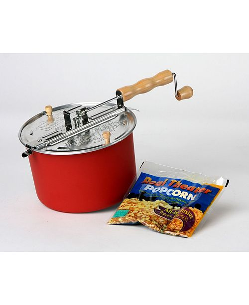 Wabash Family Farms Wabash Valley Farms Red Whirley-Pop Popcorn Popper