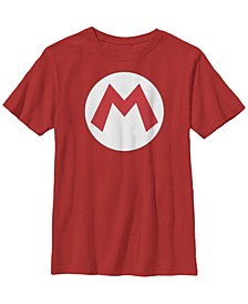 Nintendo Big Boy's Super Mario Icon Costume Short Sleeve T-Shirt