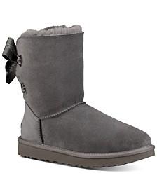 Women's Customizable Bailey Bow Short Boots