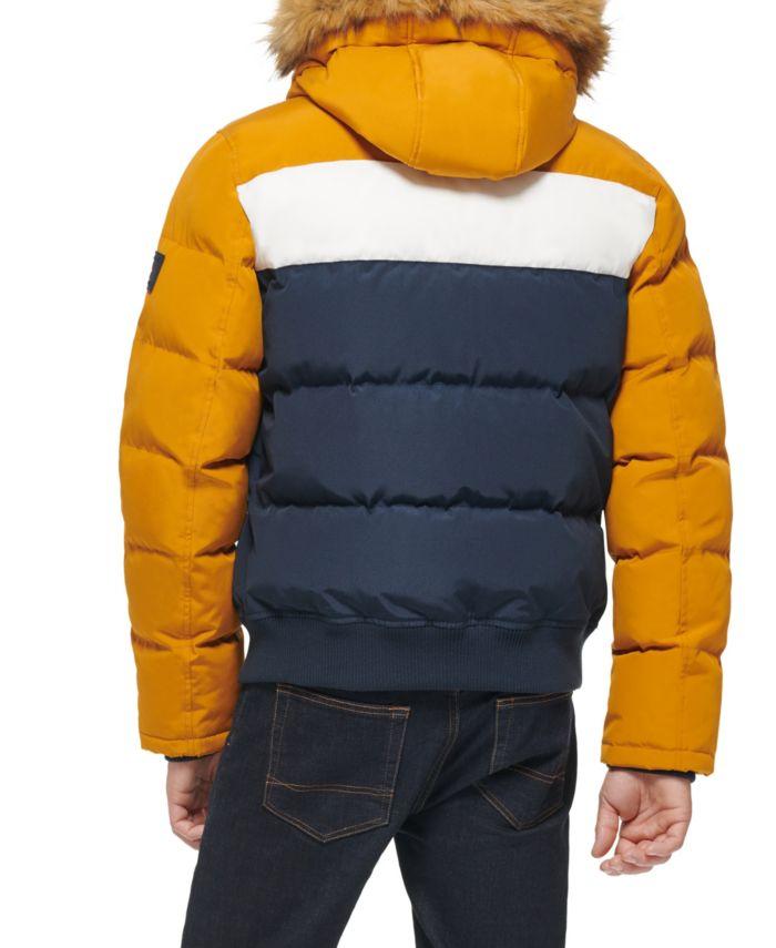 Tommy Hilfiger Short Snorkel Coat, Created for Macy's & Reviews - Coats & Jackets - Men - Macy's