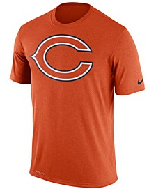 Men's Chicago Bears Legend Logo Essential 3 T-Shirt