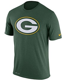 Men's Green Bay Packers Legend Logo Essential 3 T-Shirt