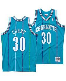 Men's Dell Curry Charlotte Hornets Hardwood Classic Swingman Jersey
