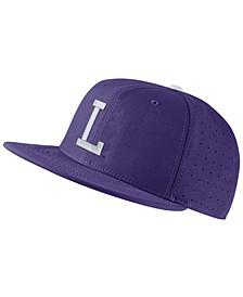 LSU Tigers Aerobill True Fitted Baseball Cap