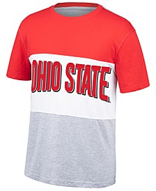 Men's Ohio State Buckeyes Colorblock T-Shirt
