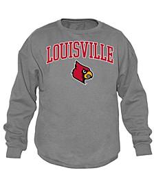 Men's Louisville Cardinals Midsize Crew Neck Sweatshirt