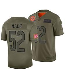 Men's Khalil Mack Chicago Bears Salute To Service Jersey 2019