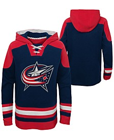 Big Boys Columbus Blue Jackets Ageless Hoodie
