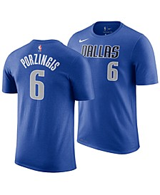 Men's Kristaps Porzingis Dallas Mavericks Icon Player T-Shirt