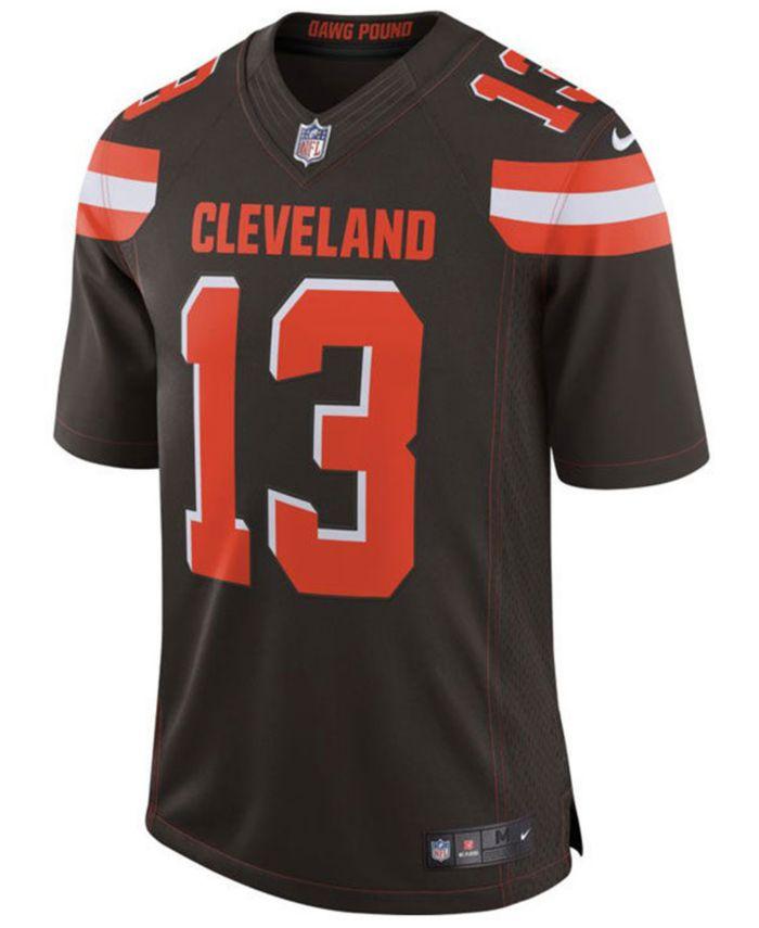 Nike Men's Odell Beckham Jr. Cleveland Browns Vapor Untouchable Limited Jersey & Reviews - Sports Fan Shop By Lids - Men - Macy's