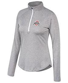 Women's Ohio State Buckeyes Ready Set Go Quarter-Zip Pullover