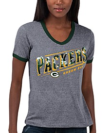 Women's Green Bay Packers Touch Free Throw T-Shirt