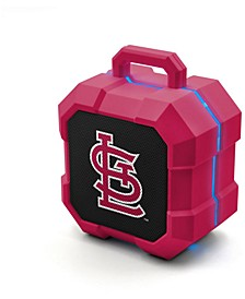 Prime Brands St. Louis Cardinals Shockbox LED Speaker