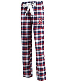Women's Boston Red Sox Piedmont Flannel Pajama Pants