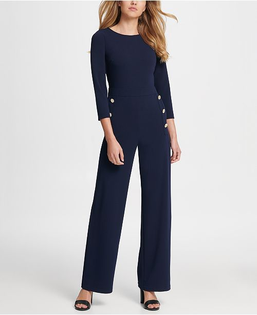 DKNY Sailor Pant Jumpsuit