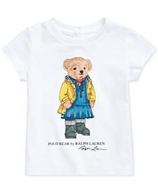Baby Girls Bear T-Shirt